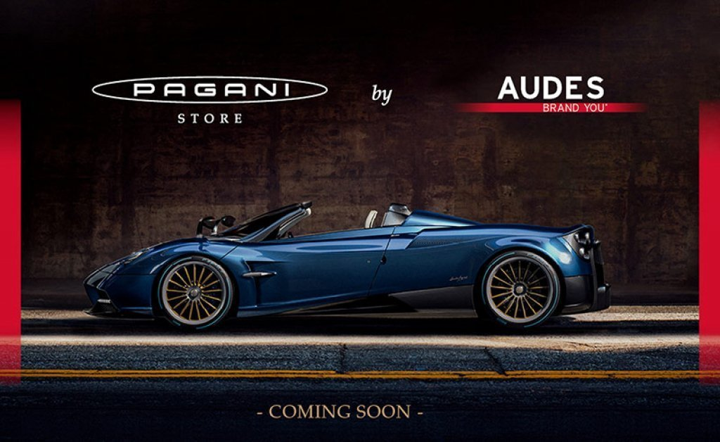 Audes Official Clothing Licensee di Pagani Automobili